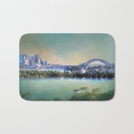 Sydney - The Harbour City Bath Mat