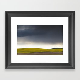 Rain's Coming Framed Art Print
