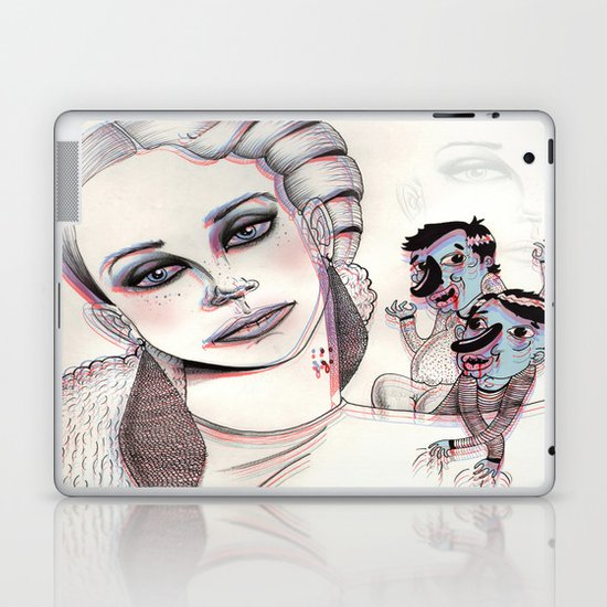 3D Nightmare Laptop & iPad Skin