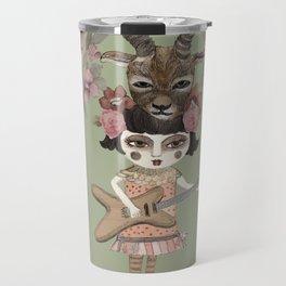 Antilope Soul - Music Art Travel Mug