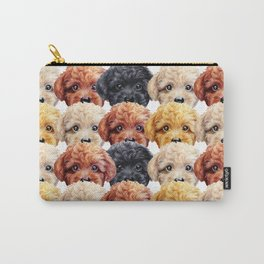 Toy poodle everywhere with friends Carry-All Pouch
