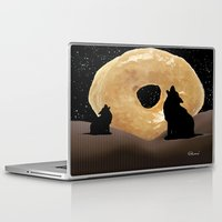 howl Laptop & iPad Skins featuring Donut Howl by Geni