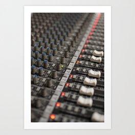 soundboard - music Art Print