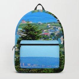 Bonaventure Island panoramic Backpack