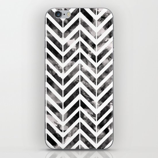 Brush Chevron iPhone & iPod Skin