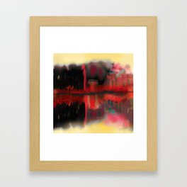 Abstract City Illusions Framed Art Print