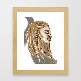 Haste Framed Art Print