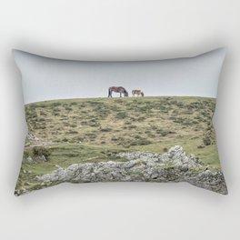 Asturcon, Asturian pony Rectangular Pillow
