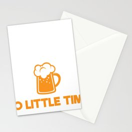 Best Beer Gift So Many Beers So Little Time Stationery Cards
