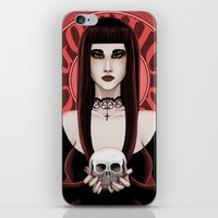 gothic iPhone & iPod Skins featuring Gothic by DarkElve