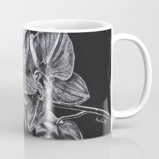 Silver Orchid Mug
