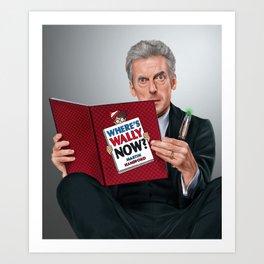 12th Doctor Art Print