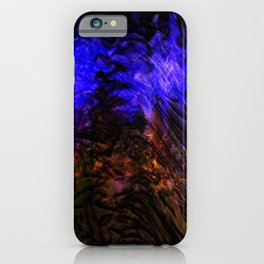 Concept abstract : Purple emotion iPhone Case