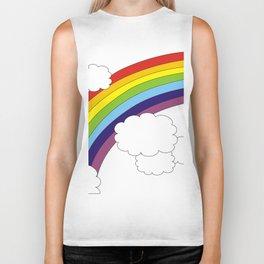 Somewhere over the rainbow Biker Tank