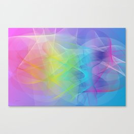 Power and positive energy, 24 Canvas Print