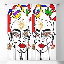 Move like Frida Kahlo Blackout Curtain