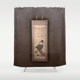 Mysticism collection Shower Curtain