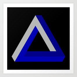 Impossible Triangle Art Print