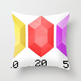 RUPEES Throw Pillow
