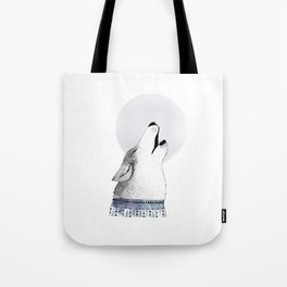 Mr. Wolf Tote Bag