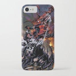 Spider-man Vs Symbiotes iPhone Case
