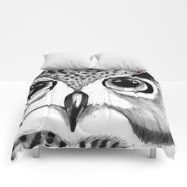 mysterious owl Comforters