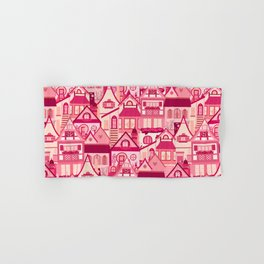 Pink Little Town Hand & Bath Towel