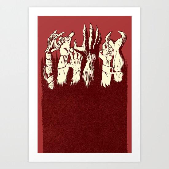 the Uprising Art Print