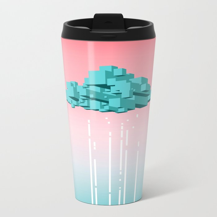Concrete Cloud Metal Travel Mug