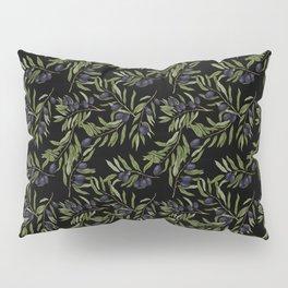 Black Olives Pattern Pillow Sham