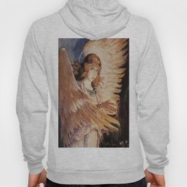 Angel With A Lamp by Victor Vasnetsov Hoody
