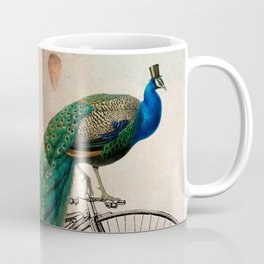 Mr Peacock Sunday Walk Coffee Mug