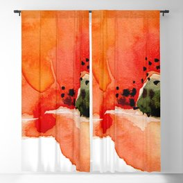 Poppy Blackout Curtain