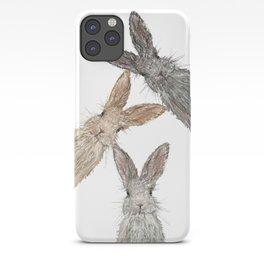 Triple Bunnies iPhone Case