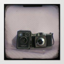 Kodak camera collection Canvas Print