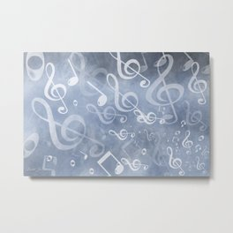 DT MUSIC 10 Metal Print