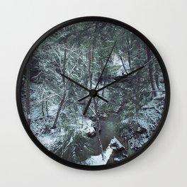 Hemlock Gorge Wall Clock