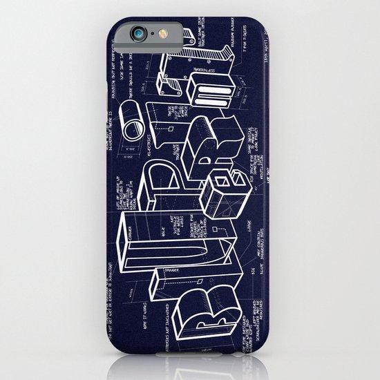 Blueprint iPhone & iPod Case