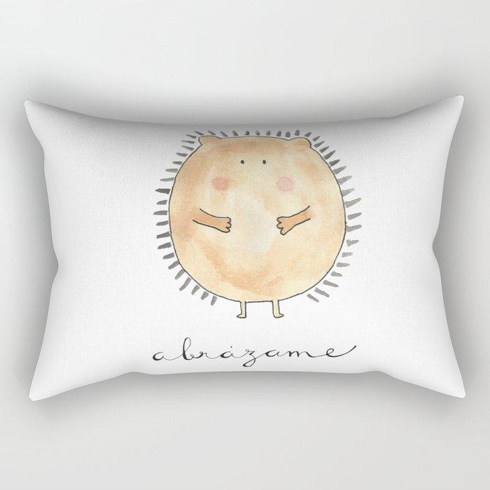 Abrázame Rectangular Pillow