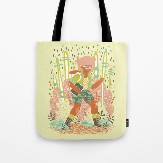 Searching for Inspiration Tote Bag