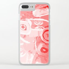 Living coral dream Clear iPhone Case