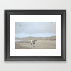 Young, Wild and Free Framed Art Print