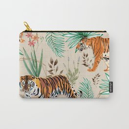 Tropical & Tigers Carry-All Pouch