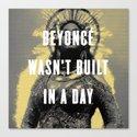 Bey Wasn't Built In A Day by studioarielle