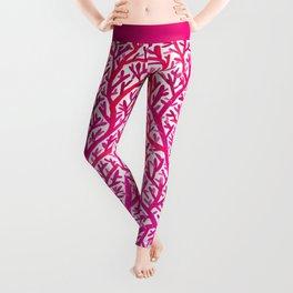 Fan Coral – Pink Ombré Leggings