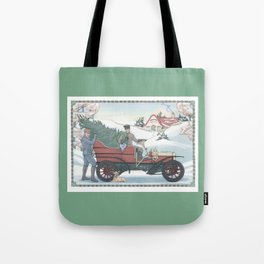 Seasons Greetings (from Steve and Bucky) Tote Bag