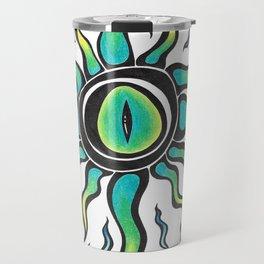 Crazy eye Travel Mug