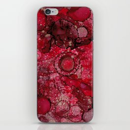 Red & Gold iPhone Skin