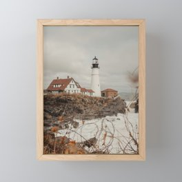 Portland Head Lighthouse Framed Mini Art Print