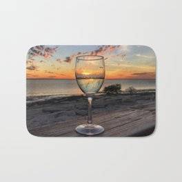 Karumba Sunset Bath Mat